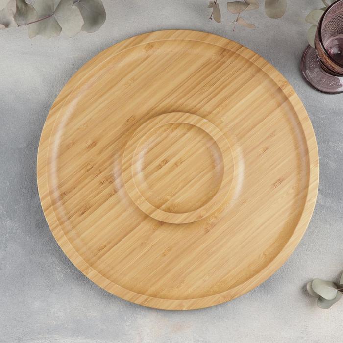 Блюдо для подачи 2 секции d=35,5 см