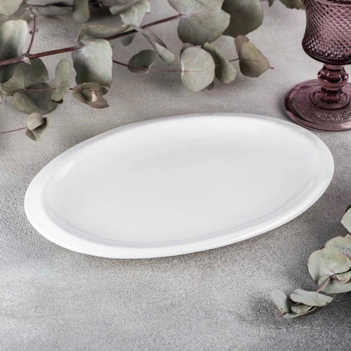 Блюдо овальное Wilmax Teona, d=25,5 см - фото 308066868