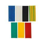 Термоусадочные трубки Uniel, 25/12.5 мм, набор 7 цветов по 3 шт, 100 мм