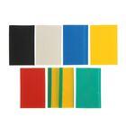 Термоусадочные трубки Uniel, 40/20 мм, набор 7 цветов по 3 шт, 100 мм