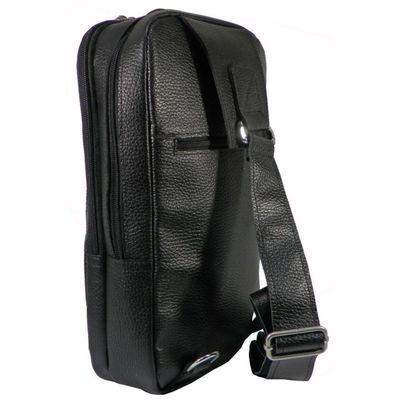 Сумка мужская ва633-3080,20*9*34,отд на молнии, н/карман,черный
