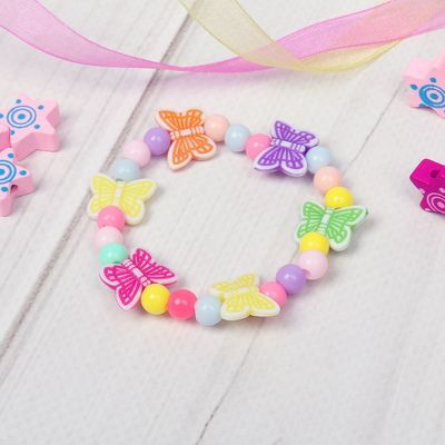 """Bracelet child """"Vibracula"""" butterfly fluttering, MIX color"""