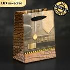 Пакет ламинированный «Изысканность», люкс, 11 х 6 х 14 см