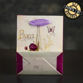 """The package laminated """"Paris"""", Suite, 11 x 6 x 14cm"""