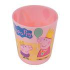 Стакан «Свинка Пеппа» 270 мл, для холодных напитков, детский, цвет розовый