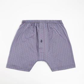 Трусы мужские шорты, цвет МИКС, размер 48