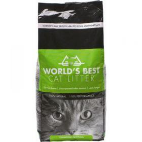 Наполнитель комкующийся World's Best для кошачьих туалетов, кукурузный 3,18 кг Ош