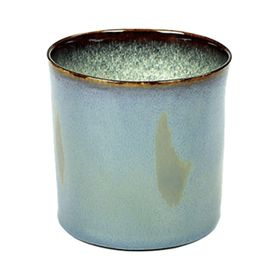 "Салатник ""Цилиндр"" керамика, d=7,5, h=7,5 см, серый"