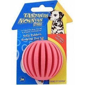 Игрушка для собак J.W. - Танзанийский мяч, каучук, средняя, микс