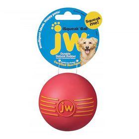 Игрушка для собак J.W. - Мяч с пищалкой, каучук, большая, микс