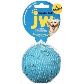 Игрушка для собак J.W. - Мяч хихикающий, каучук, маленькая, микс