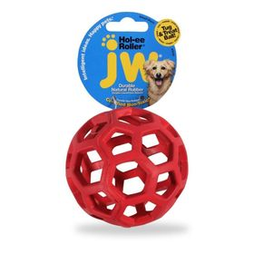 Игрушка для собак J.W. - Мяч сетчатый, каучук, средняя, микс