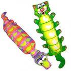Игрушка для собак Fat Cat - Зверушка с хрустящей бутылкой внутри, большая, мягкая, микс