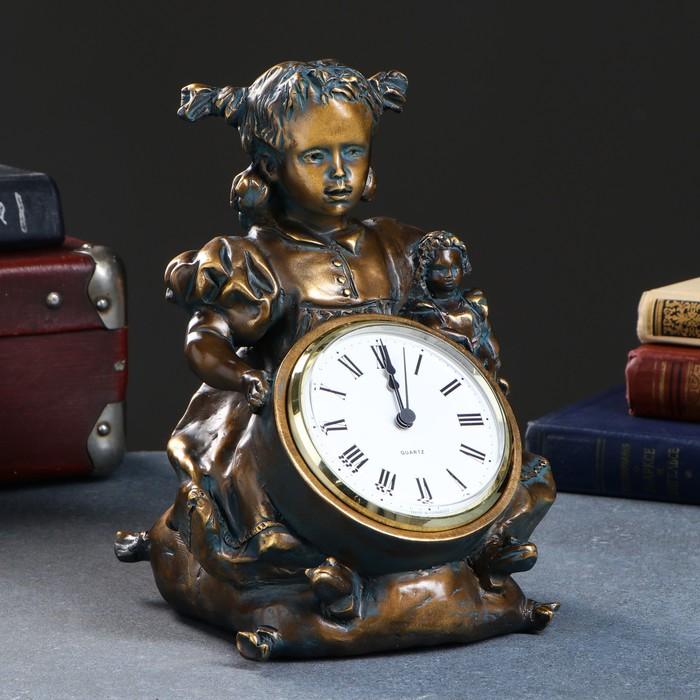 """Часы """"Бетти"""", бронза"""