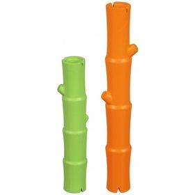Игрушка для собак J.W. - Бамбуковая палочка, каучук, большая, микс