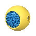 """Игрушка для собак J.W. - Мячик с """"ежиком"""", каучук, маленькая, микс"""