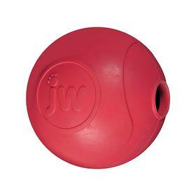 Игрушка для собак J.W. - Мяч, наполняемый лакомством, каучук, средняя, микс