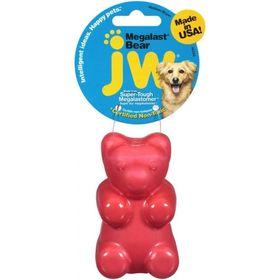 "Игрушка для собак J.W. - ""Медведь"", суперупругая Мегаласт, резина, средняя, микс"