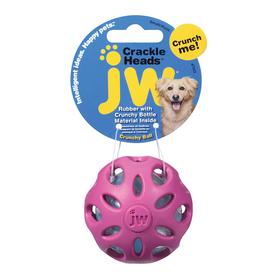 Игрушка для собак - Мяч сетчатый, хрустящая, резина, большая, микс