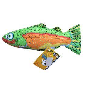 Игрушка для собак Fat Cat - Рыба, большая, мягкая, микс