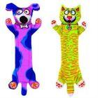 Игрушка для собак Fat Cat - Перетяжка, прочная, маленькая, мягкая, микс