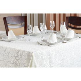 Набор кухонный Sofia: скатерть 150 × 220 см, салфетки 40 × 40 см- 6 шт, слоновая кость