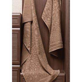 Полотенце Vitra, размер 50 × 90 см, коричневый