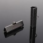 Зажим для ленты (набор 10шт) 22мм СМ-343, цвет серый