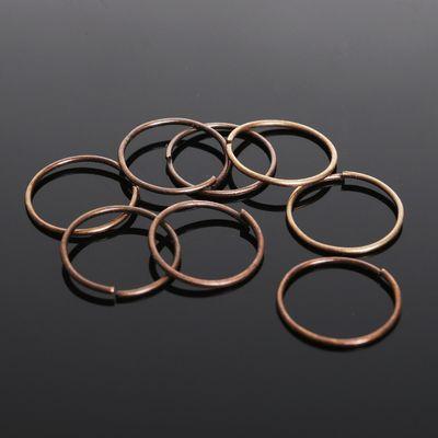 Кольцо соединительное 0,7*12мм (набор 50 гр, ±440 шт) СМ-995, цвет меди
