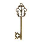 """Декор металл """"Ключ от замка"""" (набор 5 шт) 5,6х1,8 см"""