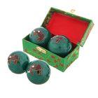 """Поющие шары Баодинга (шары здоровья) (набор 2 шт) d=4,5 см """"Слон"""" 5,5х10х5,5 см"""