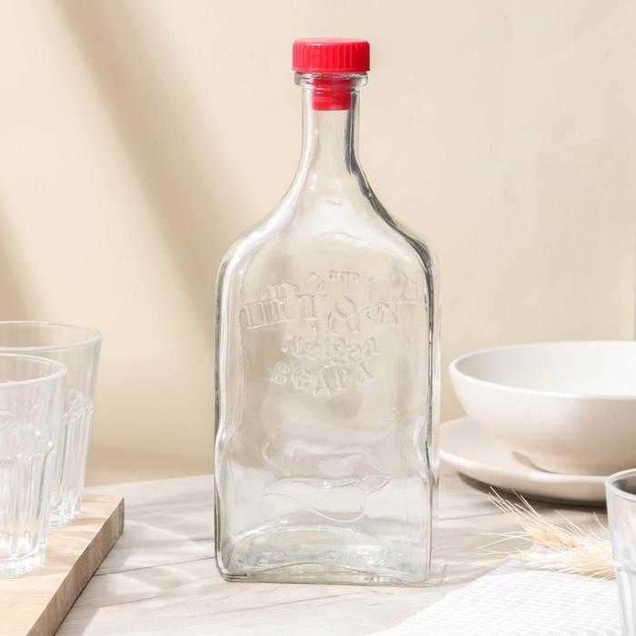 Бутылка стеклянная 1,2 л «Штоф»