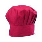 Колпак повара, 58 х 60 см, цвет бордовый