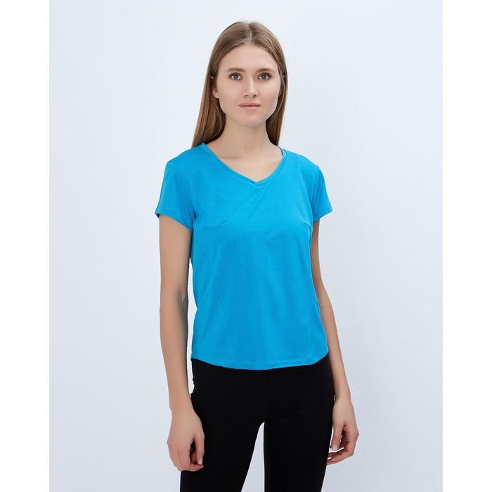 Спортивная футболка ONLITOP Summer размер 40-42, цвет синий
