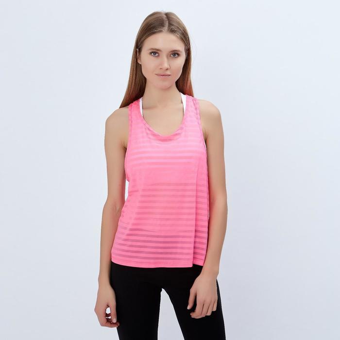 Спортивная майка ONLITOP Summer pink размер 40-42, цвет розовый