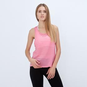 Спортивная майка ONLITOP Summer peach размер 40-42, цвет персиковый Ош