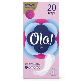 Прокладки ежедневные Ola! Daily Light String Multiform, 20 шт.