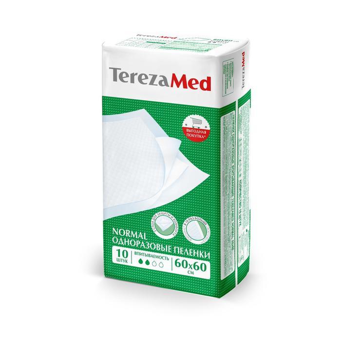 Пеленки одноразовые Normal 60x60 TerezaMed уп.10