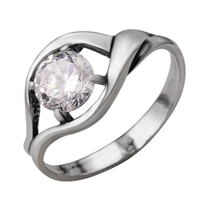 Кольцо ''Силена'', посеребрение с оксидированием, 17 размер 2252194