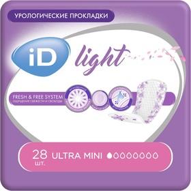 Урологические прокладки iD Light Maxi, 14 шт.