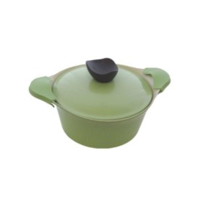 Кастрюля 24 см с крышкой Evergreen, 4,5 л