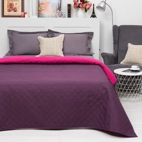 Покрывало Этель Ультрастеп Краски сна, размер 180х215 см, цвет малиново-фиолетовый, 90 г/м2