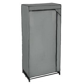 Шкаф для одежды, 75×46×160 см, цвет серый
