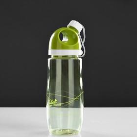Бутылка для воды с поильником в винтовой крышке, 500 мл, микс Ош