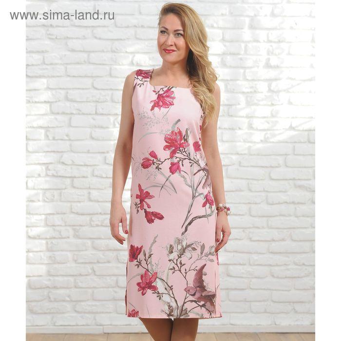 Платье женское 6224, размер 46, рост 164 см, цвет разноцветный