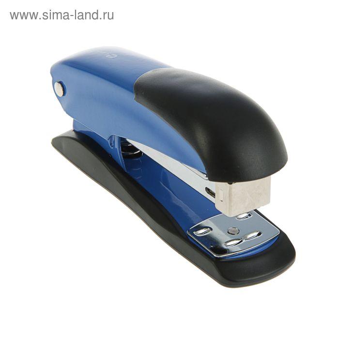 Степлер №24-26/6 до 20 листов Lamark Ulrich, синий