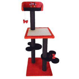 "Домик Triol-Disney когтеточка ""Minnie""  45*45*120см, 4-х уровневый"