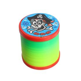 Пружинка радуга «Йо-хо-хо», пиратик, d=5 см