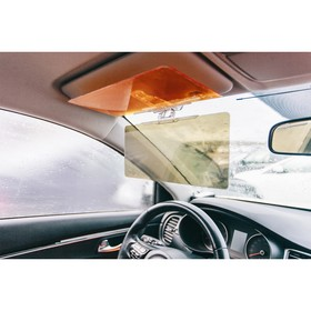 Protection from oncoming headlights and the sun, 30x18x5.2 cm, sun visor.