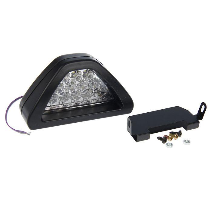 Противотуманный фонарь TORSO,12 led, 12 В, белый,